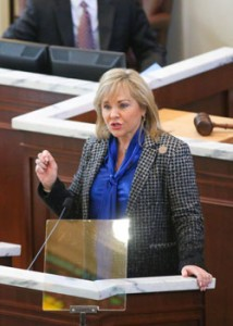 Mary Fallin presents State of the State address