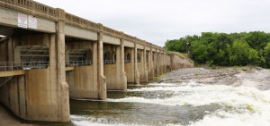 Pensacola Dam releases water May 19.