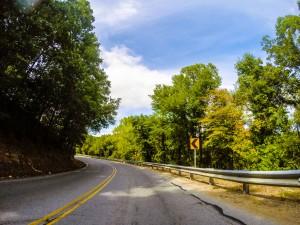 Eastern Oklahoma road